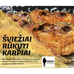 RŪKYTAS KARPIS