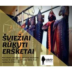 RŪKYTAS ERŠKETAS